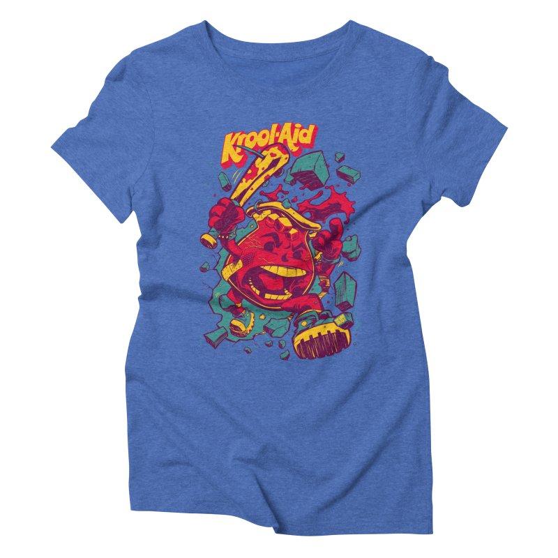 KROOL AID Women's Triblend T-shirt by Beastwreck