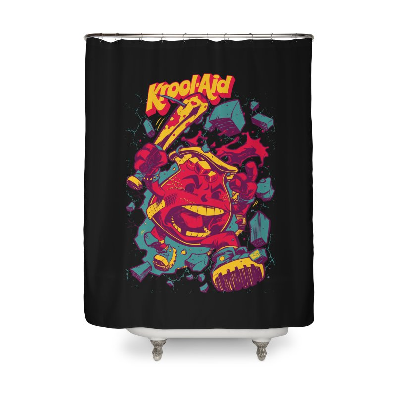 KROOL AID Home Shower Curtain by Beastwreck