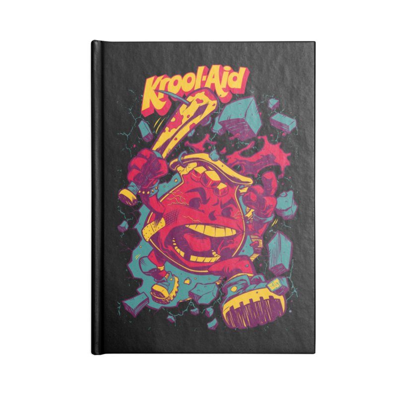 KROOL AID Accessories Notebook by Beastwreck
