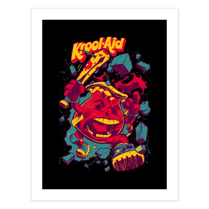 KROOL AID Home Fine Art Print by Beastwreck