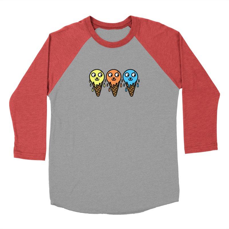 Melting icecream Women's Longsleeve T-Shirt by beatbeatwing's Artist Shop