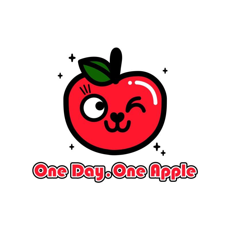 One day One Apple Women's Longsleeve T-Shirt by beatbeatwing's Artist Shop