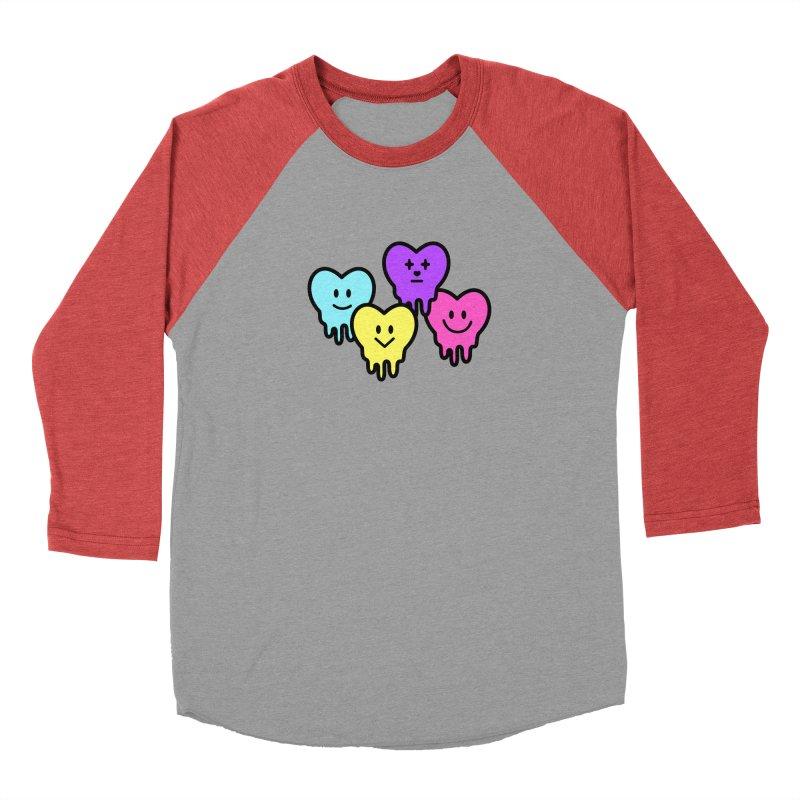 Melting hearts Women's Longsleeve T-Shirt by beatbeatwing's Artist Shop
