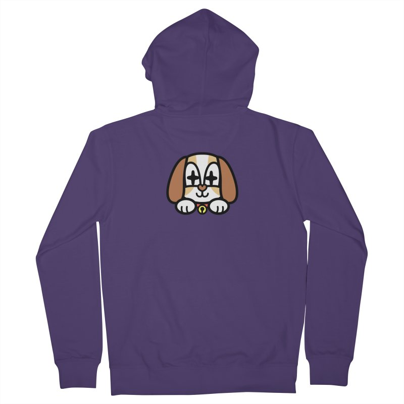FUNNY DOG Women's Zip-Up Hoody by beatbeatwing's Artist Shop