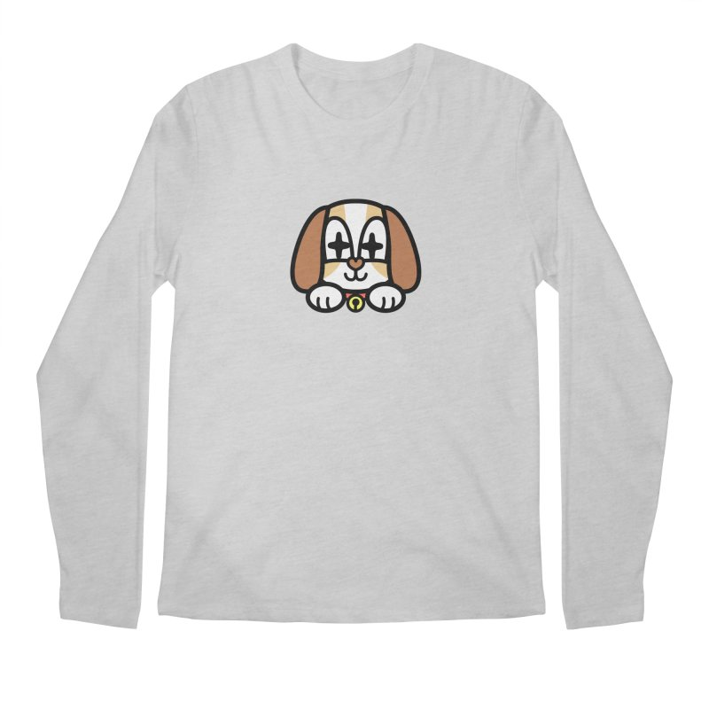 FUNNY DOG Men's Regular Longsleeve T-Shirt by beatbeatwing's Artist Shop
