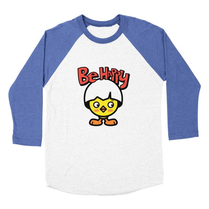 AMAZING EGG Women's Baseball Triblend Longsleeve T-Shirt by beatbeatwing's Artist Shop