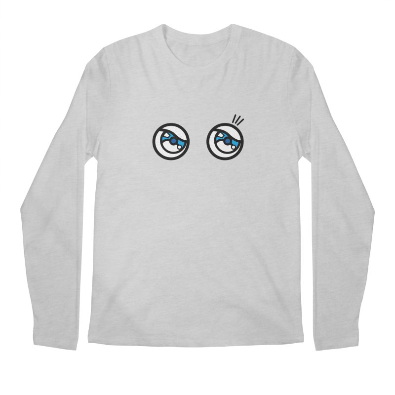 eyes on you Men's Regular Longsleeve T-Shirt by beatbeatwing's Artist Shop