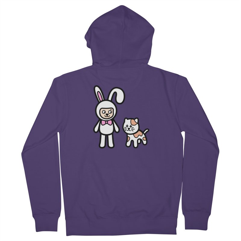 Happy together Women's Zip-Up Hoody by beatbeatwing's Artist Shop