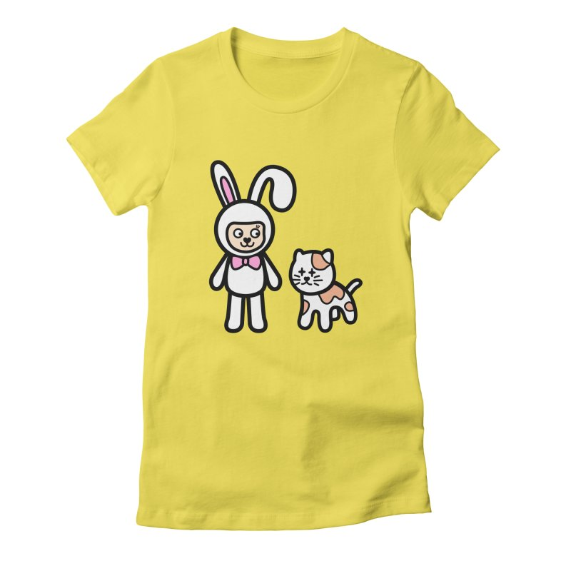 Happy together Women's T-Shirt by beatbeatwing's Artist Shop