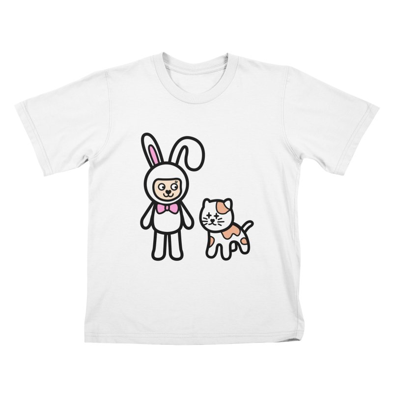 Happy together Kids T-Shirt by beatbeatwing's Artist Shop