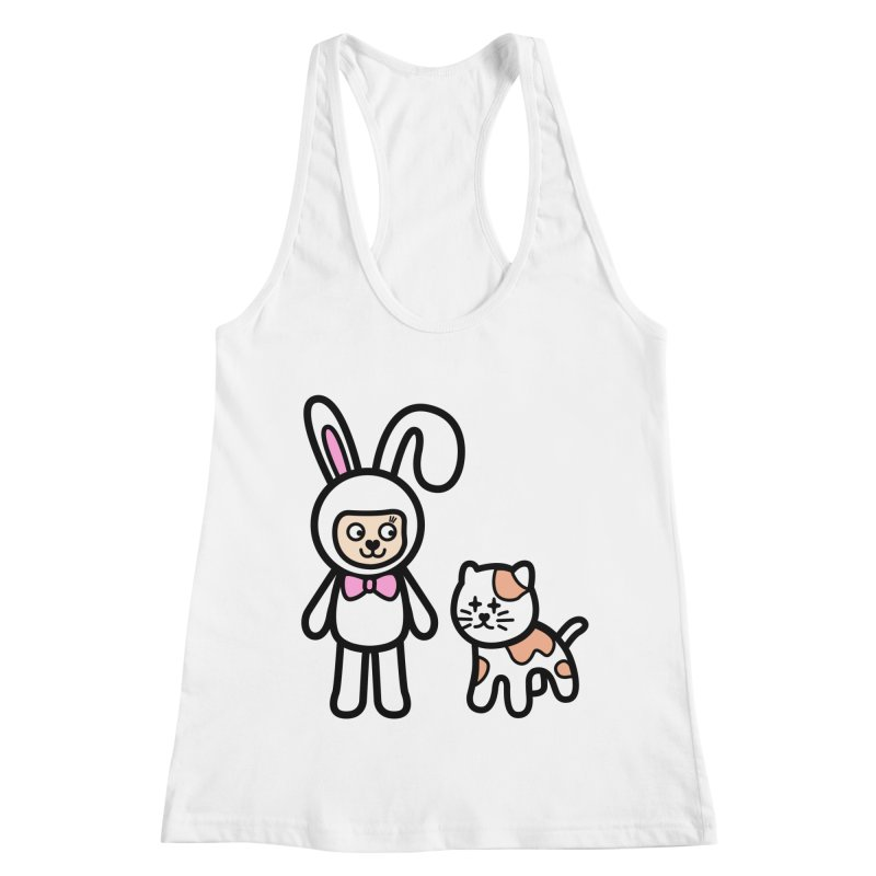 Happy together Women's Racerback Tank by beatbeatwing's Artist Shop