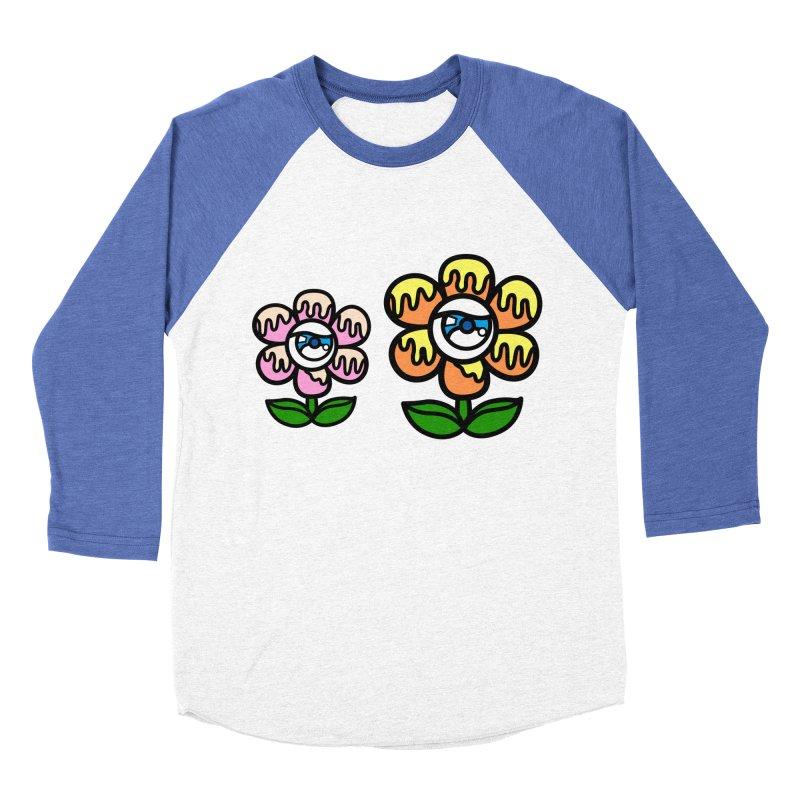eyes on flower Women's Baseball Triblend Longsleeve T-Shirt by beatbeatwing's Artist Shop