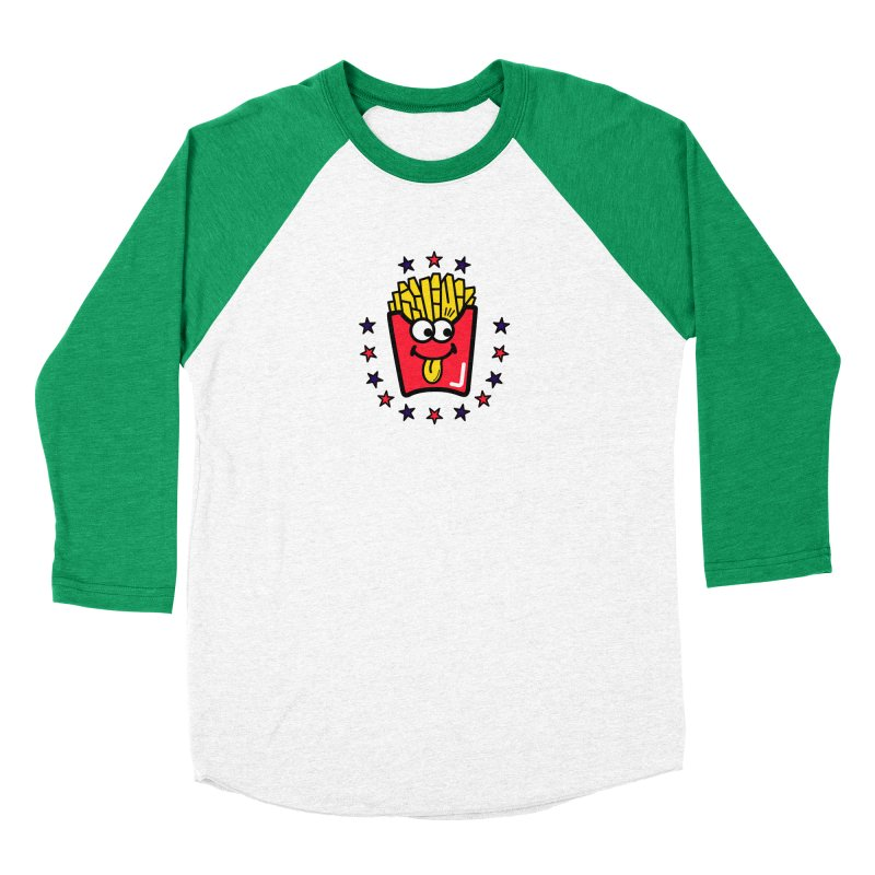 i love fries Men's Longsleeve T-Shirt by beatbeatwing's Artist Shop