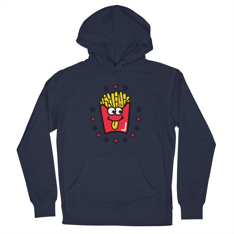 i love fries Men's Pullover Hoody by beatbeatwing's Artist Shop