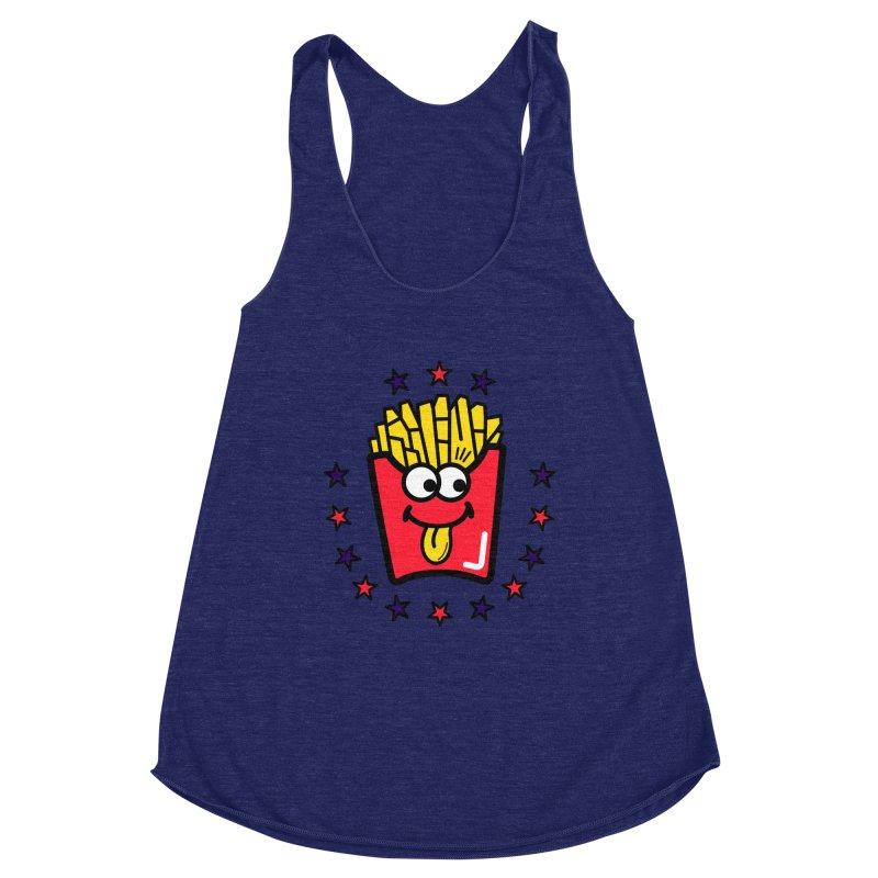 i love fries Women's Tank by beatbeatwing's Artist Shop