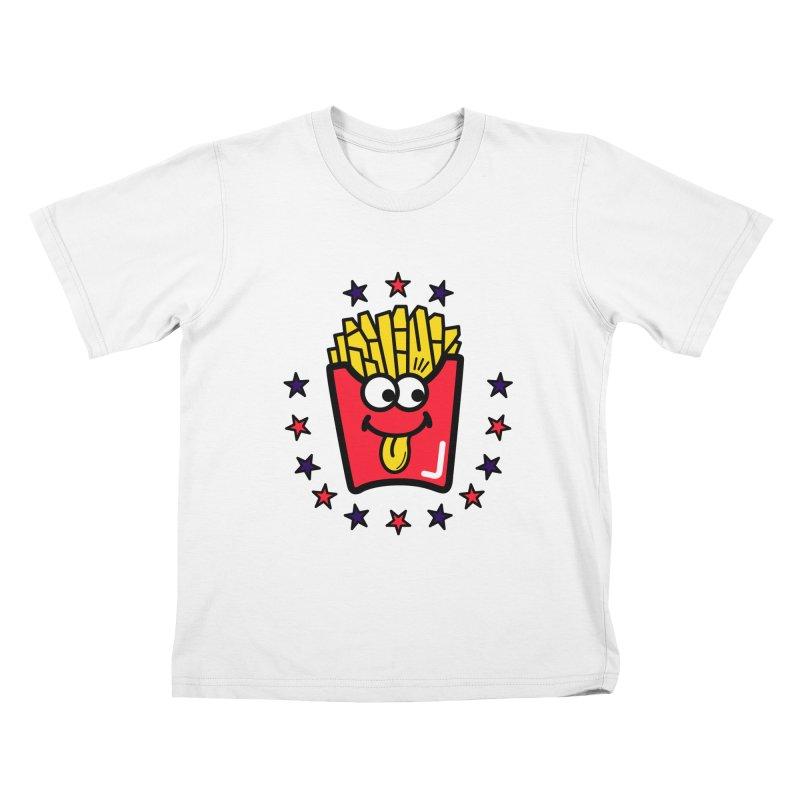 i love fries Kids T-Shirt by beatbeatwing's Artist Shop