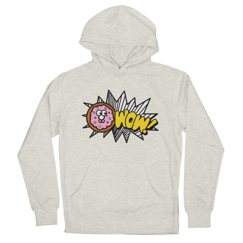 i love cookie Men's French Terry Pullover Hoody by beatbeatwing's Artist Shop