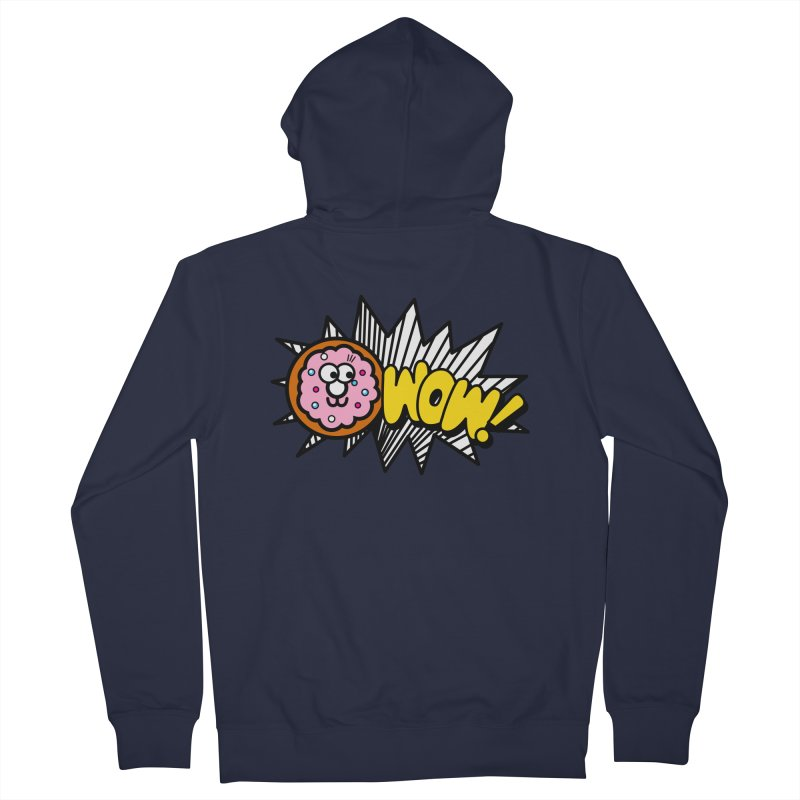 i love cookie Women's French Terry Zip-Up Hoody by beatbeatwing's Artist Shop