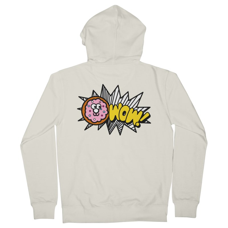 i love cookie Men's French Terry Zip-Up Hoody by beatbeatwing's Artist Shop