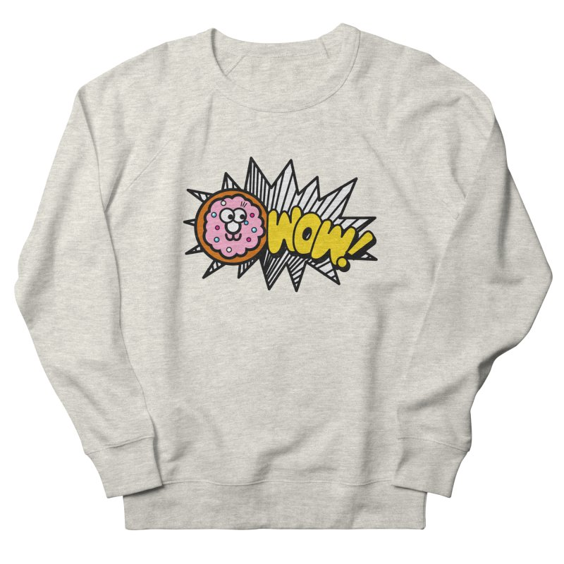 i love cookie Men's French Terry Sweatshirt by beatbeatwing's Artist Shop