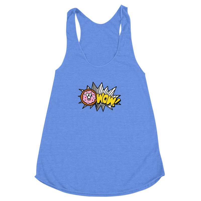 i love cookie Women's Racerback Triblend Tank by beatbeatwing's Artist Shop