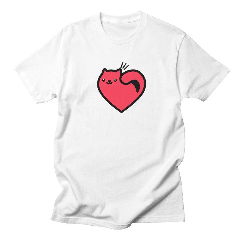 Lovely Kitty Men's T-Shirt by beatbeatwing's Artist Shop