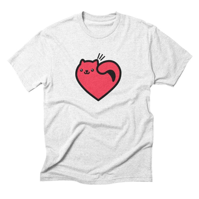Lovely Kitty Men's Triblend T-shirt by beatbeatwing's Artist Shop