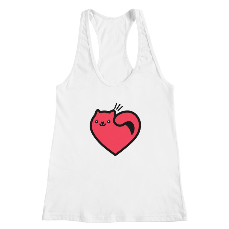 Lovely Kitty Women's Tank by beatbeatwing's Artist Shop