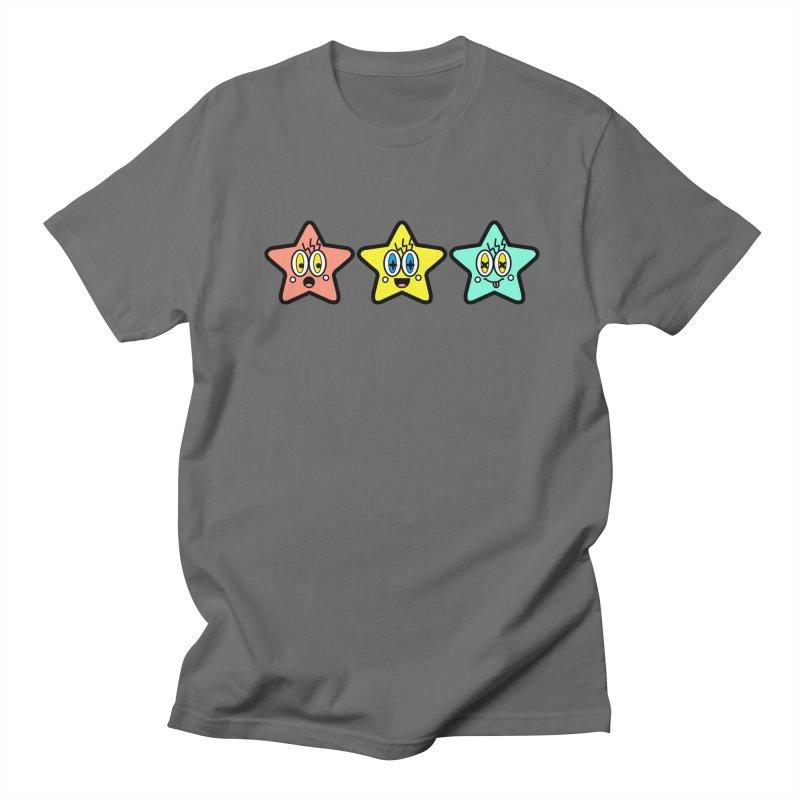 Amazing Stars Men's T-Shirt by beatbeatwing's Artist Shop