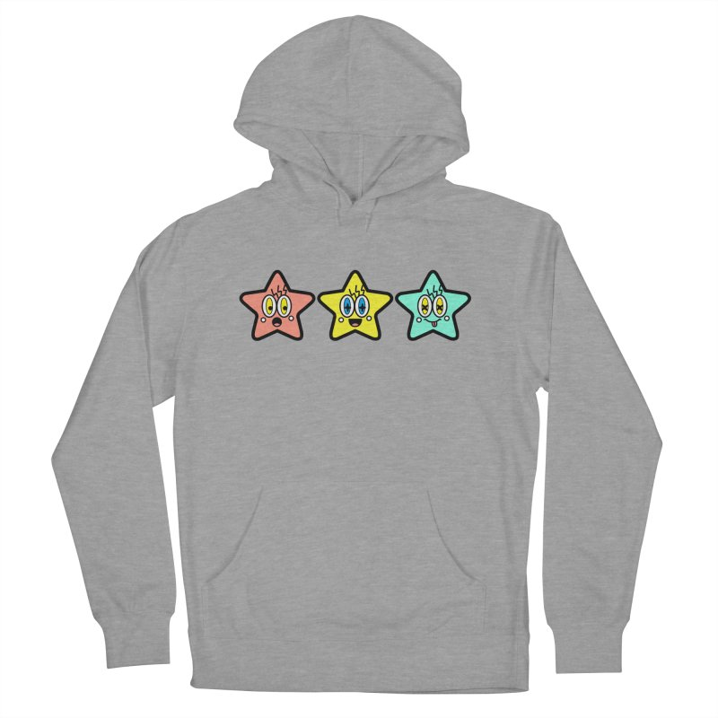Amazing Stars Women's French Terry Pullover Hoody by beatbeatwing's Artist Shop