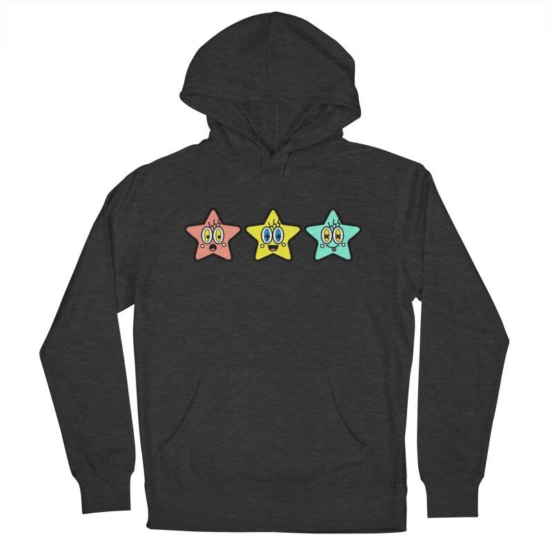 Amazing Stars Men's French Terry Pullover Hoody by beatbeatwing's Artist Shop