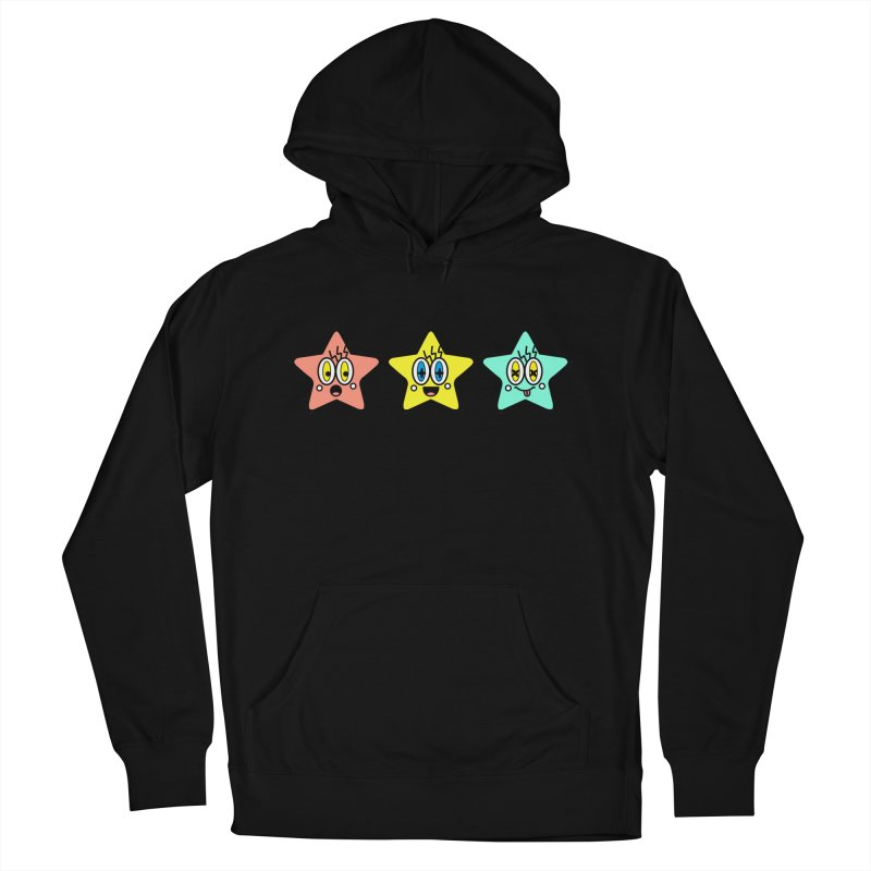 Amazing Stars Men's Pullover Hoody by beatbeatwing's Artist Shop