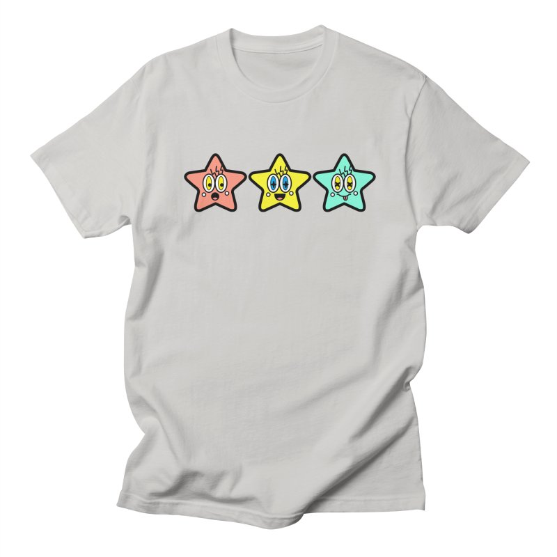 Amazing Stars Men's Regular T-Shirt by beatbeatwing's Artist Shop
