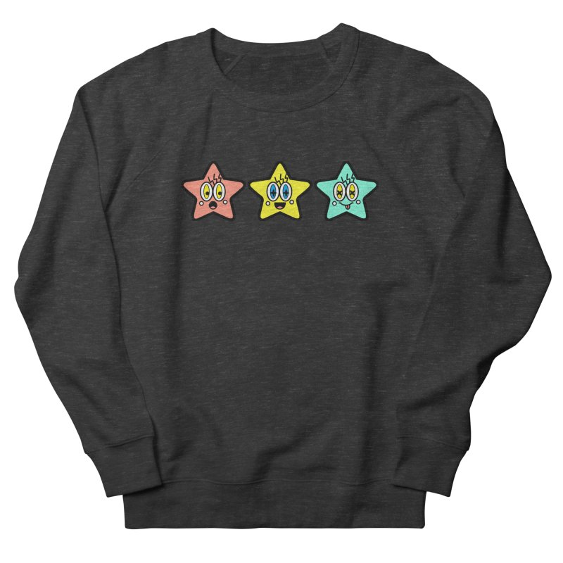 Amazing Stars Women's French Terry Sweatshirt by beatbeatwing's Artist Shop