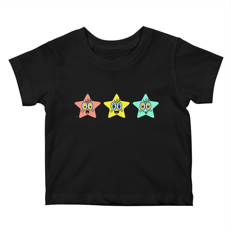 Amazing Stars Kids Baby T-Shirt by beatbeatwing's Artist Shop