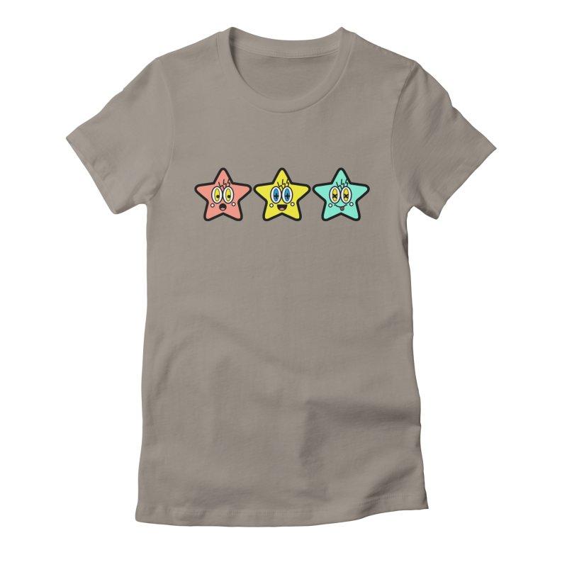 Amazing Stars Women's T-Shirt by beatbeatwing's Artist Shop