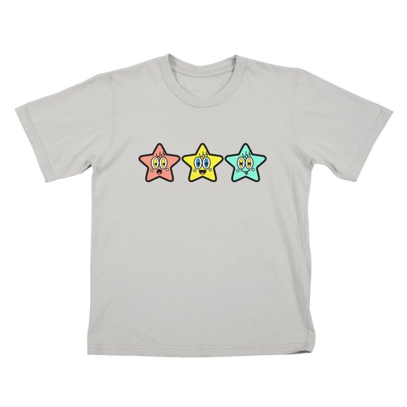 Amazing Stars Kids T-Shirt by beatbeatwing's Artist Shop