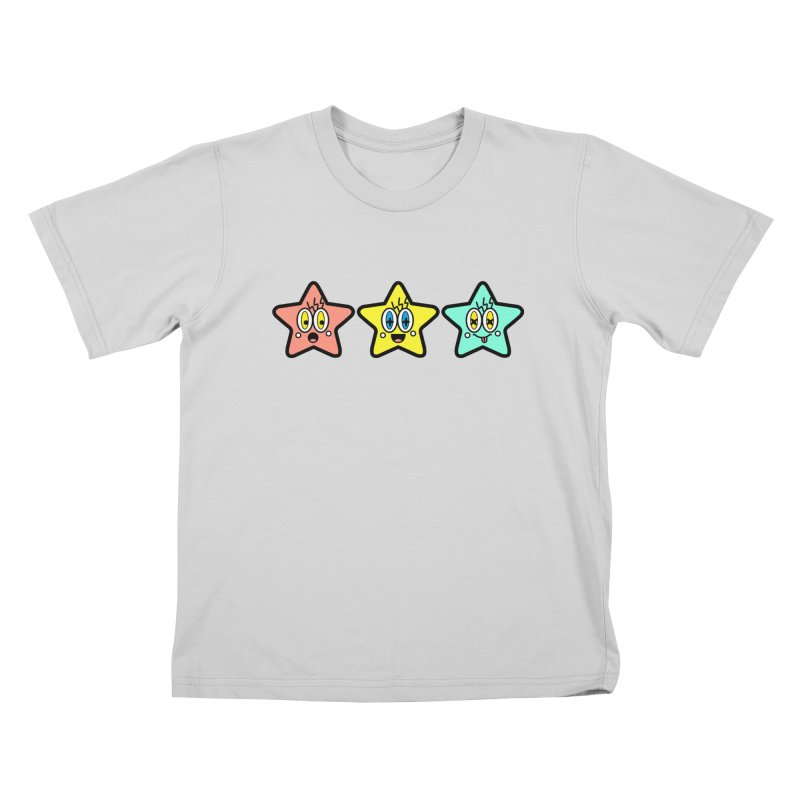 Amazing Stars Kids T-Shirt by beatbeatwing's Artist Shop