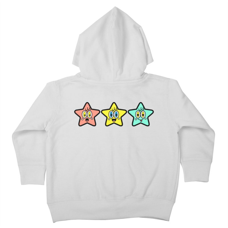 Amazing Stars Kids Toddler Zip-Up Hoody by beatbeatwing's Artist Shop