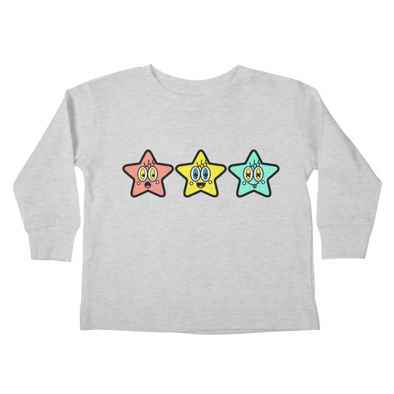 Amazing Stars Kids Toddler Longsleeve T-Shirt by beatbeatwing's Artist Shop