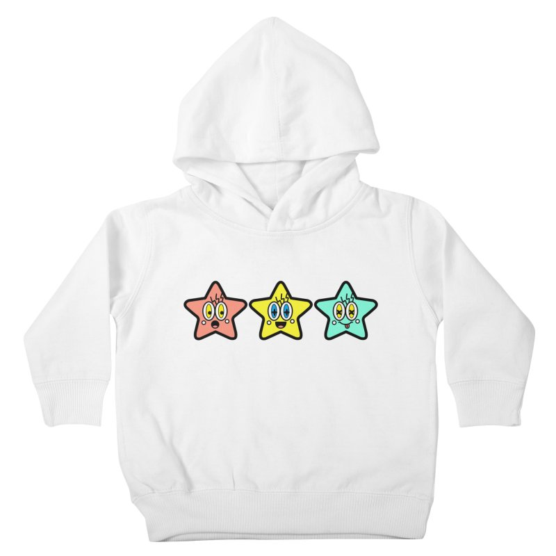 Amazing Stars Kids Toddler Pullover Hoody by beatbeatwing's Artist Shop