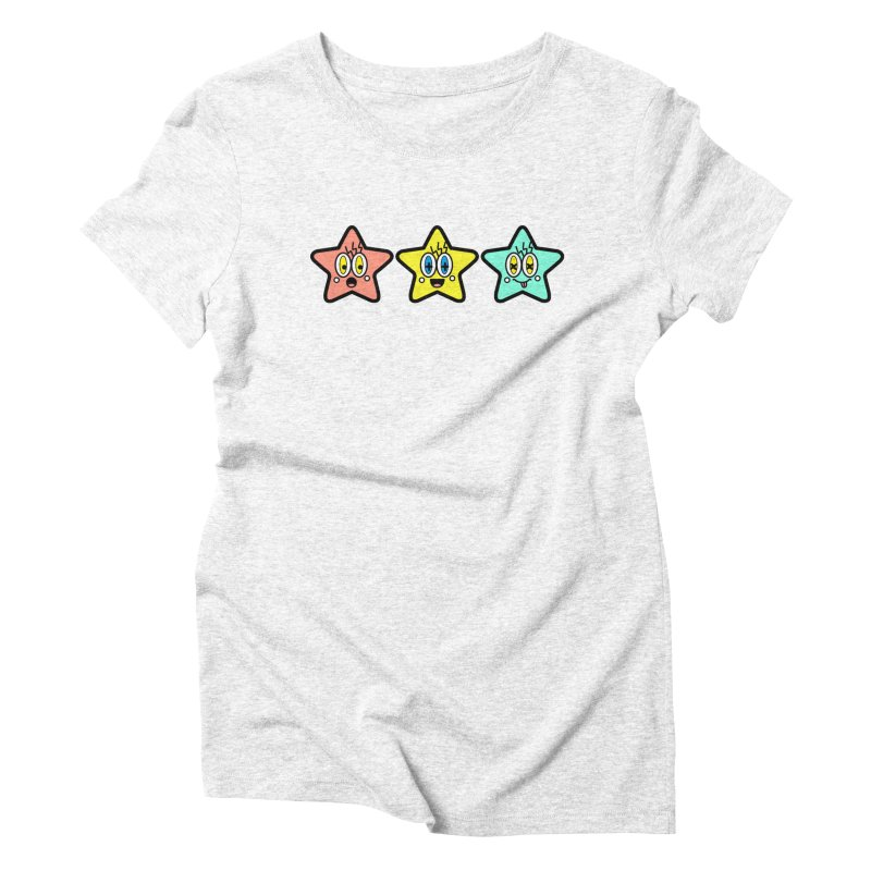 Amazing Stars Women's Triblend T-shirt by beatbeatwing's Artist Shop