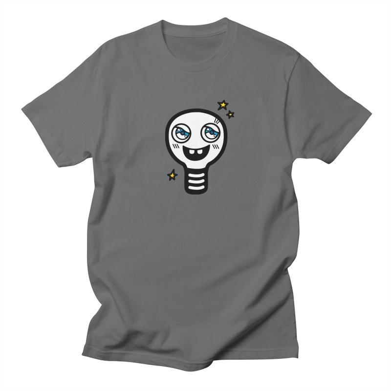 Shining light bulb Men's T-Shirt by beatbeatwing's Artist Shop