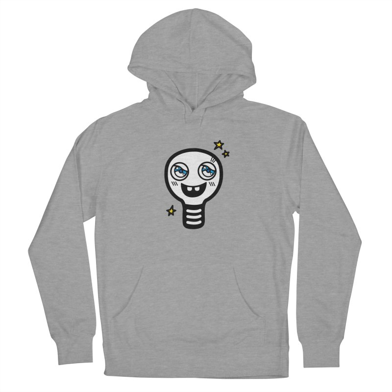 Shining light bulb Men's Pullover Hoody by beatbeatwing's Artist Shop