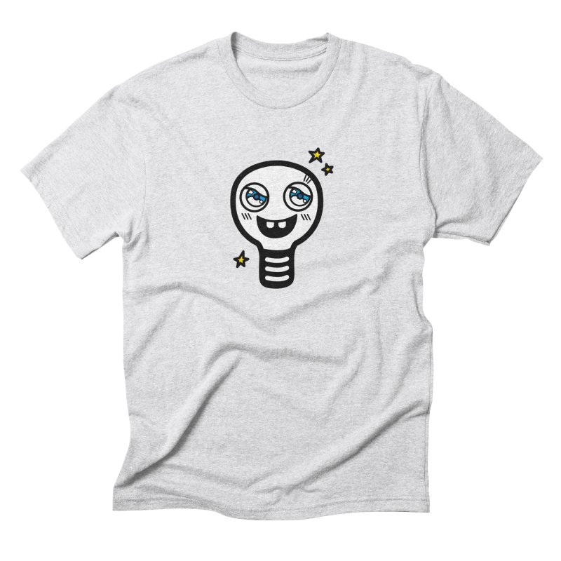 Shining light bulb Men's Triblend T-Shirt by beatbeatwing's Artist Shop