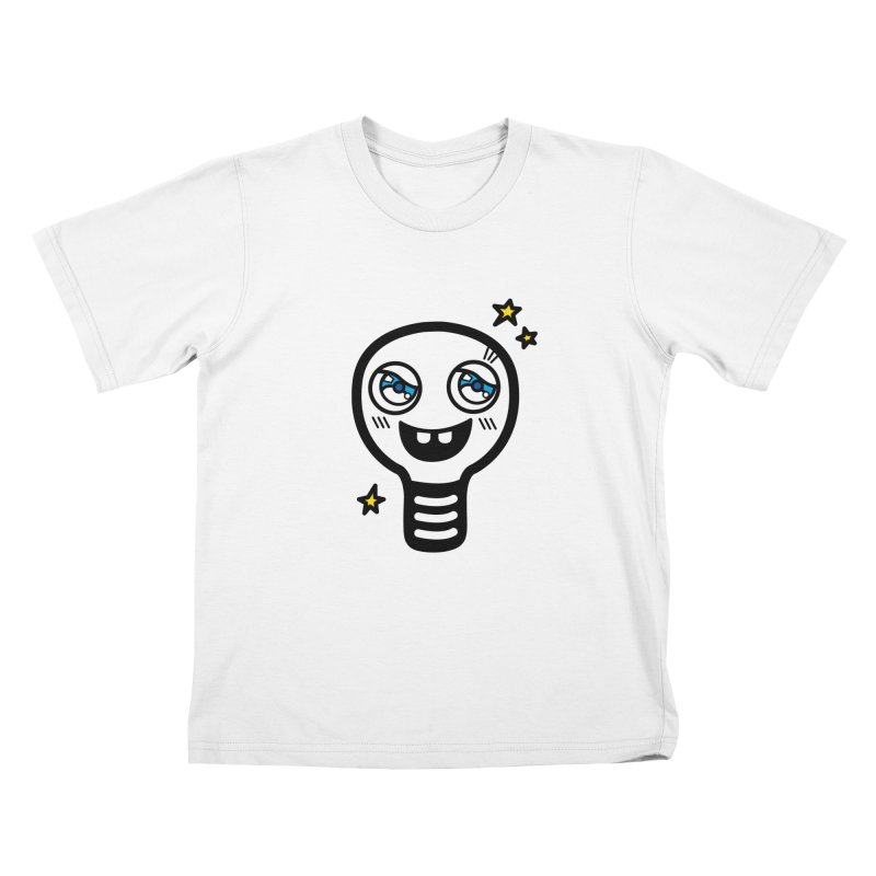 Shining light bulb Kids Toddler T-Shirt by beatbeatwing's Artist Shop