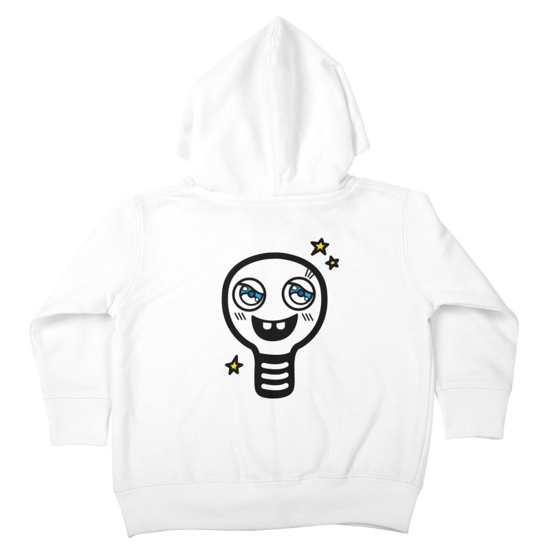 Shining light bulb Kids Toddler Zip-Up Hoody by beatbeatwing's Artist Shop
