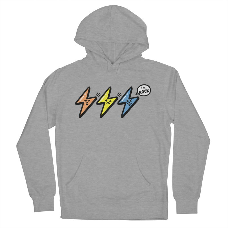 i am rock Women's Pullover Hoody by beatbeatwing's Artist Shop