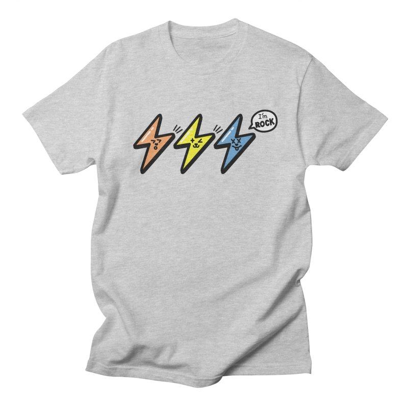 i am rock Men's T-Shirt by beatbeatwing's Artist Shop