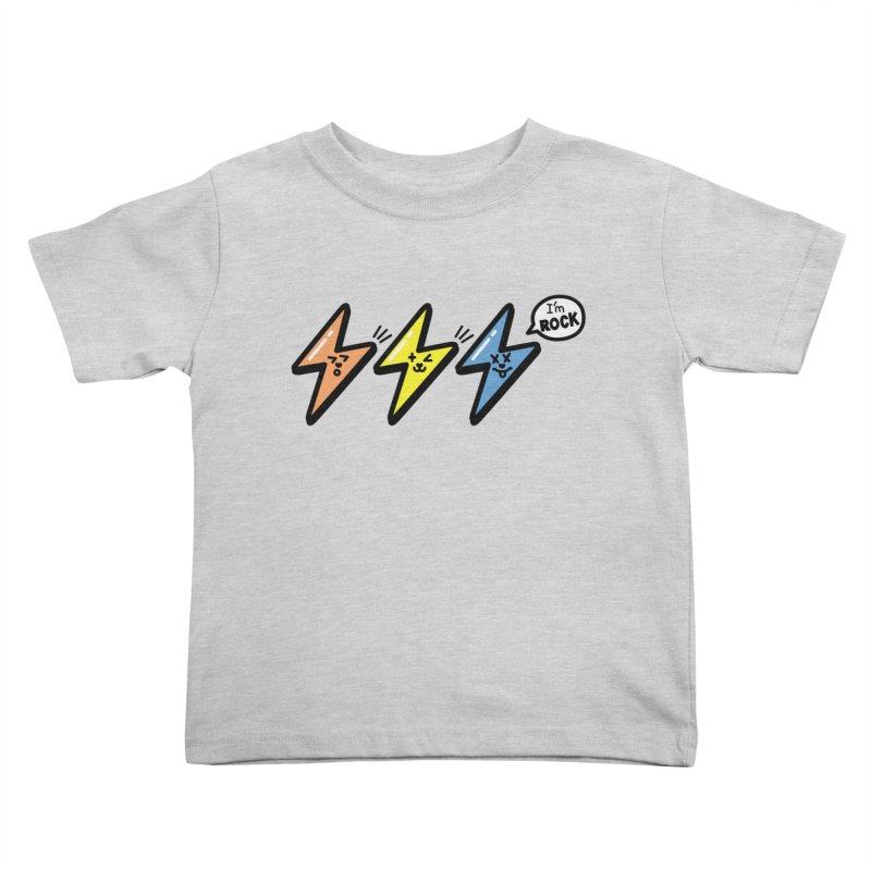 i am rock Kids Toddler T-Shirt by beatbeatwing's Artist Shop